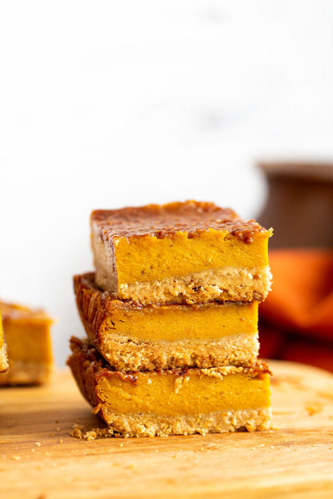 pumpkin pie bars 10 1